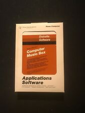 New Nos TI99-4a Home Computer Computer Music Box Diskette Rare PHD 5011