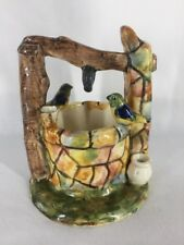 Vallauris French Majolica Pottery Wishing Well Vase (ref B665)