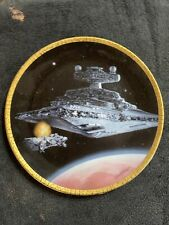 More details for starwars star destroyer hamilton certified ltd ed plate by sonia hillios