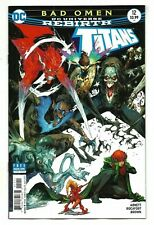 TITANS # 12 (DC Universe Rebirth, AUG 2017), NM NEW (Bagged & Boarded)