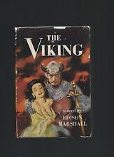 The Viking Edison Marshall First Edition First Printing Book Into Film Scarce