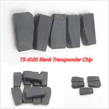 10 Pcs Autos Off-Road Black Mini T5-ID20 Blank Transponder Chips For Remote Key