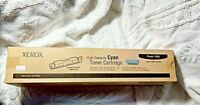 Genuine Xerox Toner High Capacity Cartridge Cyan Blue Phaser 6350 106R01144