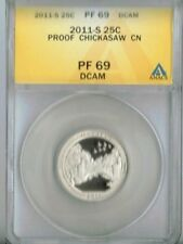 2011-S Proof Chickaswa National Recreation Area ANACS Authenicated PF 69