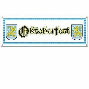 Oktoberfest Giant Sign Banner 5ft