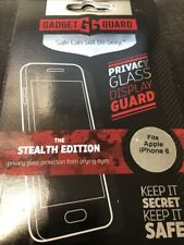 NEW Gadget Guard Stealth/Shadow Privacy Glass Screen Protector for iPhone 6/6s