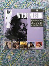 WILLIE NELSON ORIGINAL ALBUM CLASSICS ~ NEW CD ~ FIVE DISCS
