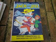 JACK and JILL FEBRUARY 1961 USA VERY GOOD, TRES BON ETAT, WITH CENTRAL GAME