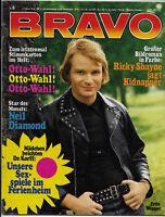 BRAVO Nr.6 vom 2.2.1972 Humble Pie, Jane Fonda, Raimund Harmstorf, Neil Diamond