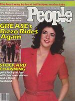 JULY 16 1979 PEOPLE magazine (UNREAD - NO LABEL) - GREASE - BETTY RIZZO