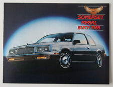 BUICK SOMERSET REGAL 1985 dealer brochure - English - Canada - ST501001117