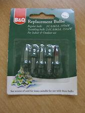 B&q Outdoor Xmas Lights Bq indooroutdoor christmas lights ebay bq replacement spare xmas light bulbs clear lamps 3v 195mw bql1 25073201 workwithnaturefo