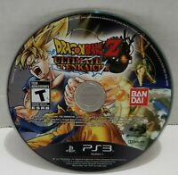 Dragon Ball Z: Ultimate Tenkaichi (Sony PlayStation 3, 2011) PS3 Disc Only