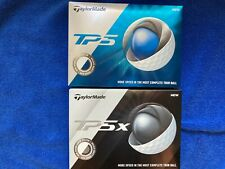 Brand New Boxes of TaylorMade TP5 & TP5x (1 box each) Golf Balls