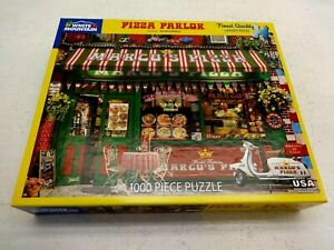 SET OF 3 WHITE MOUNTAIN PUZZLES COMPLETE 1000 PCS