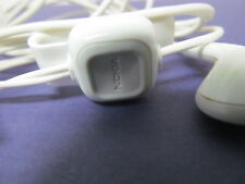 Genuine NOKIA WH-102 HS-125 Headset w/Mic 3.5MM JACK White HEADPHONE