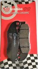Pastiglie freno anteriore Brembo 07107CC carbon ceramica (1 coppia per 1 disco)