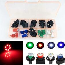 12x Auto LED Instrumententafel Licht mit T10 Lampenfassung 12V 1210SMD 4 Farben