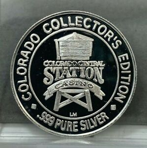 American WildLife Series CO Central Station Casino Collectors Edition 999 Silver