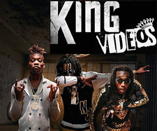 50+ Music Videos JUNE 2017 Hip-Hop, R&B, TRap - 2 DVDs Kodak Black Future Migos