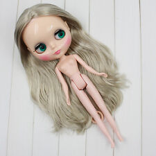 """12"""" Neo Blythe Doll Grey Hair Factory Nude Blythe Doll from Factory Jsw83009"""