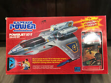 Captain Power 1987 Vintage XT-7 Deluxe Powerjet w/ VHS in Factory Sealed Box