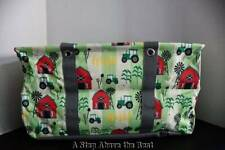 Thirty One LARGE Utility Tote Farm Fun NEW