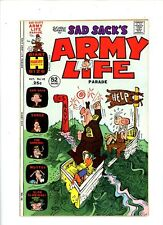 "1973 Harvey Comics, ""Sad Sack's Army Life"" issue # 48, FN/VF."