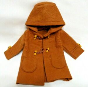 """Vintage 1963 Pedigree SINDY """"DUFFLE COAT #12S58"""" Excellent Made in England MIE"""