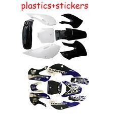 Motorcycle KLX110 Black Plastic +Style Sticker Fit KLX 110 125 140cc Dirt Bike