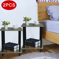 Night Stand Bedside Table Sofa Chair Side End Tables Bedroom Nightstand Set of 2
