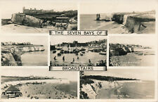 PC48713 The Seven Bays of Broadstairs. Multi view. Valentine. 1958. RP