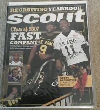 2007 SCOUT.COM Magazine Football Recruiting Yearbook NCAA NFL