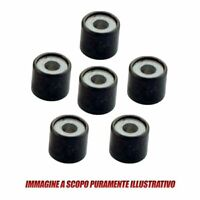 Driving pulley roller set 19x17 15,6 gr RMS 100400982 Piaggio 125 2001 > 2002