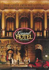 "Leslie Caron ""GRAND HOTEL"" Tommy Tune / Berlin, Germany 1991 Souvenir Program"