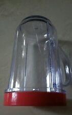 Magic Bullet  Cup with Handle and Red Rim - MB1001 - Replacement Parts