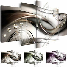 ABSTRACT Canvas Wall Art Image Photo Print a-A-0174-b-n
