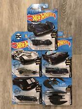 Hot Wheels 2019 & 2020 Batmobile Treasure Hunts & Other Batman Vehicles Lot Of 5