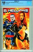 Hellions #3 Comics Elite Mike Mayhew Exclusive - CBCS 9.8!