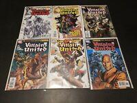 Villains United #1-6 Complete Set (2005) DC Comics