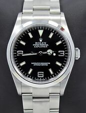 Rolex Explorer I 114270 Stainless Steel Oyster Black Dial Watch *MINT CONDITION*