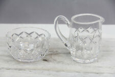 SALE!~ WATERFORD CRYSTAL IRELAND KERRY CREAM OPEN SUGAR BOWL ELEGANT HOME