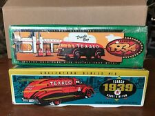 TEXACO Die Cast Lot 1934  Doodle Big & 1939 Dodge Airflow Car Banks