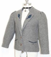 BOILED WOOL German Women Cardigan SWEATER Jacket 38 S