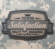 SATISFACTION 3D PVC TACTICAL MILITARY ARMY ACU DARK VELCRO® BRAND FASTENER PATCH