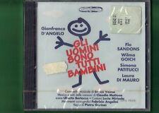 GLI UOMINI SONO TUTTI BAMBINI GIANFRANCO D'ANGELO CD NUOVO SIGILLATO