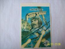 FIRE SHARK Genesis Vidpro Card