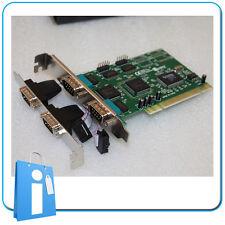 Tarjeta PCI Controladora 4 Puertos SERIE RS232 DB9 controller card serial