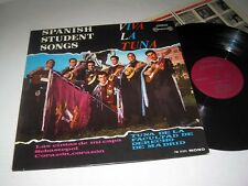 TUNA DE LA FACULTAD Spanish Student Songs LONDON INTERNATIONAL Mono NM/NM-