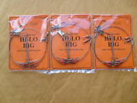 3 PACKS TIDE RITE HI-LO RIGS 2/PACK TOTAL 6 RIGS FREE USA SHIPPING